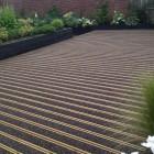 View Of Timber Decking Installation In Suffolk
