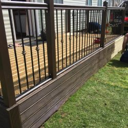 Carolyn Scott - Rubadeck non slip Decking Project